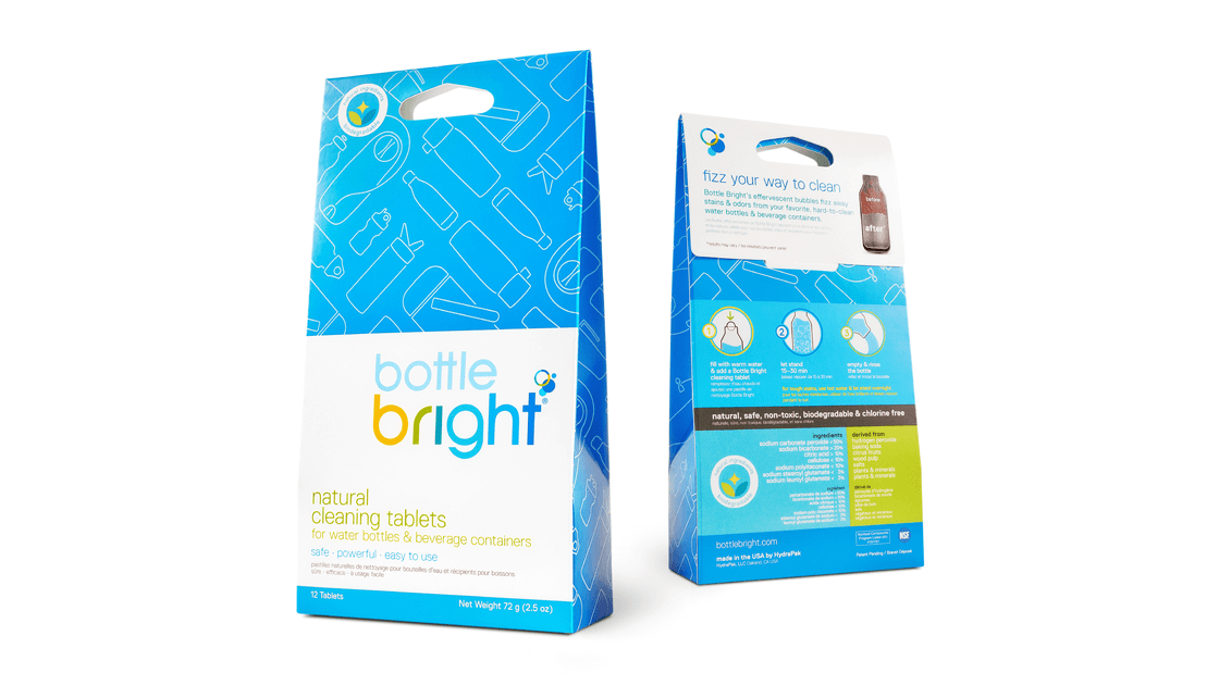 Bottle Bright Packaging