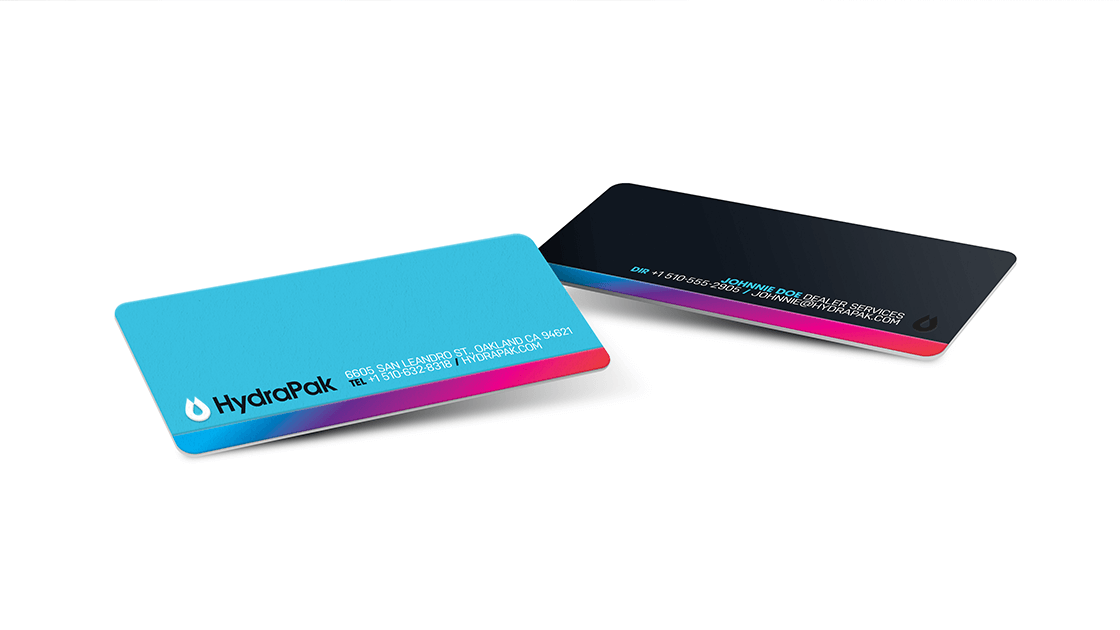HydraPak Business Cards