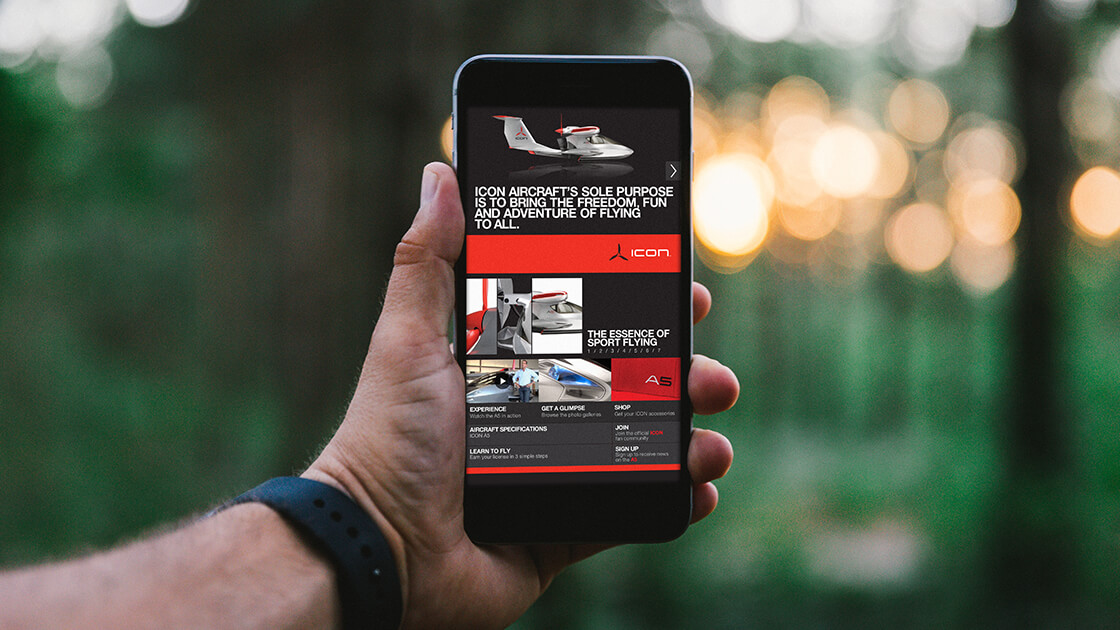 ICON Aircraft Website