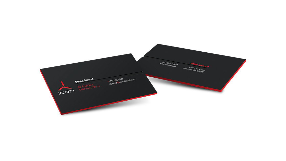 ICON Aircraft Business Cards